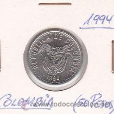 Monedas antiguas de América: COLOMBIA 50 PESOS 1994. Lote 42862577