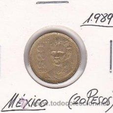 Monedas antiguas de América: MEXICO 20 PESOS 1989. Lote 42882185