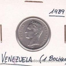 Monedas antiguas de América: VENEZUELA 1 BOLIVAR 1989. Lote 42896150