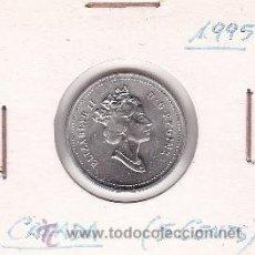 Monedas antiguas de América: CANADA 5 CENTS 1995. Lote 42896396