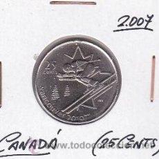 Monedas antiguas de América: CANADA 25 CENTS 2007 (VANCOUVER 2010). Lote 42896562