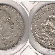 Monedas antiguas de América: MONEDA DE UN PESO DE LOS ESTADOS UNIDOS DE MÉJICO DE 1947. PLATA. MBC+ (ME596).. Lote 43148013