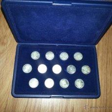Monedas antiguas de América: ARRAS DE PLATA, 13 MONEDAS DE 10 CÉNTIMOS DE CANADA DE LOS AÑOS 60. Lote 43192757