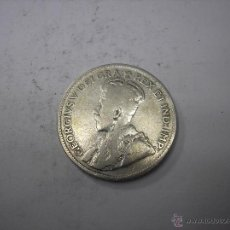 Monedas antiguas de América: CANADÁ, 25 CTS. DE PLATA DE 1929 REY JORGE V. Lote 43344714