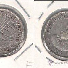 Monedas antiguas de América: MONEDA DE 10 CENTAVOS DE NICARAGUA DE 1914. PLATA. EBC- CATÁLOGO WORLD COINS-KM13. (ME1062).. Lote 43416576