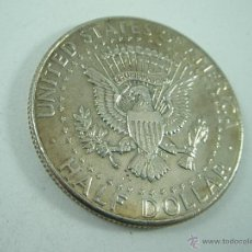 Monedas antiguas de América: MONEDA-U.S.A-HALF DOLLAR-PLATA-KENNEDY-1964-PERFECTA.. Lote 43710255