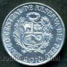 Monedas antiguas de América: PERU 1 CENTIMO DEL 2010 ( ESCUDO NACIONAL DE ARMAS ). Lote 167503744