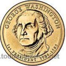 Monedas antiguas de América: ESTADOS UNIDOS / USA 1$ 2007 PRESIDENTE 1 GEORGE WASHINGTON (1789-1797) P. Lote 168895670