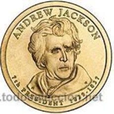 Monedas antiguas de América: ESTADOS UNIDOS / USA 1$ 2008 PRESIDENTE 7 ANDREW JACKSON (1829 -1837 ) P. Lote 129055811