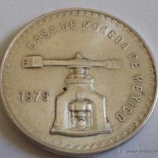 Monedas antiguas de América: ONZA DE PLATA TROY DE MEXICO DEL AÑO 1.979. SON 33,625 GRAMOS. Lote 44822609
