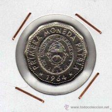 Monedas antiguas de América: ARGENTINA : 25 PESOS 1964 EBC+. Lote 44828788