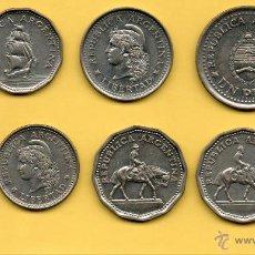 Monedas antiguas de América: MM. LOTE 6 PIEZAS REPUBLICA ARGENTINA. DECADA 1960. BONITAS. VER FOTOS.. Lote 44858821