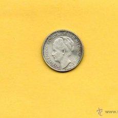 Monedas antiguas de América: MM. UNA DECIMA. 1/10 G. CURAÇAO. AÑO 1947. PLATA.REINA GUILLERMINA. VER FOTOS. HOLANDA. Lote 44867333