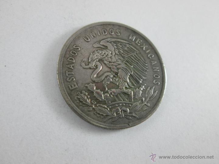 Monedas antiguas de América: Aª MONEDA-MÉXICO-50 CENTAVOS-PLATA-1950-CUAUHTEMOC-BUEN ESTADO-. - Foto 5 - 44889024