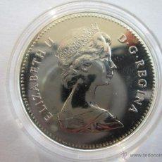 Monedas antiguas de América: CANADA * 1 DOLAR 1979 * PLATA. Lote 44955846