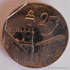 Monedas antiguas de América: 25 CENTAVOS CUBA 1994. Lote 45008276