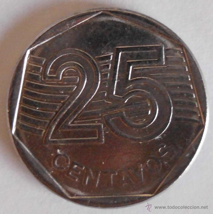 25 CENTAVOS BRASIL 1994 (Numismática - Extranjeras - América)