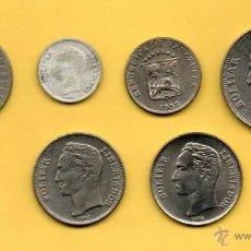 Monedas antiguas de América: MM. LOTE 6 PIEZAS DIFERENTES REPUBLICA VENEZUELA. BOLIVAR. VARIOS AÑOS. VER FOTOS.. Lote 45353332