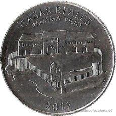 Monedas antiguas de América: PANAMA 1/2 BALBOA 2012 CONJUNTO MONUMENTAL DE PANAMA VIEJO ( CASAS REALES ). Lote 155192073