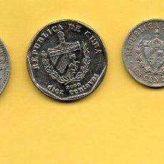 Monedas antiguas de América: MM. LOTE 4 PIEZAS REPUBLICA CUBA. DIVERSOS AÑOS Y VALORES. HABANA. HAVANA. VER FOTOS.. Lote 45496857