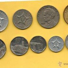 Monedas antiguas de América: MM. LOTE 9 PIEZAS REPUBLICA CUBA. HABANA. HAVANA. AÑOS Y VALORES DIVERSOS. VER FOTOS.. Lote 45497000