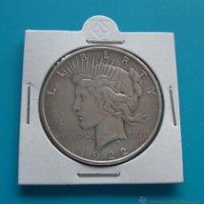 Monedas antiguas de América: DOLAR DE PLATA ESTADOUNIDENSE DE LA PAZ AÑO 1922. Lote 45673656