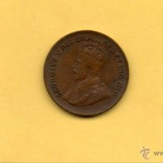 Monedas antiguas de América: MM. ONE CENT. UN CENTIMO CANADA. AÑO 1933. JORGE V. GEORGIVS V. COBRE. 1,90 DIAMETRO. VER FOTOS. Lote 46077802
