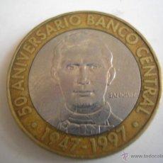 Monedas antiguas de América: REP. DOMINICANA. 5 PESOS 1997. KM88. 50 ANIVERSARIO BANCO CENTRAL.. Lote 46546576