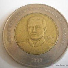 Monedas antiguas de América: REP DOMINICANA. 10 PESOS 2008. KM106 . Lote 46546602