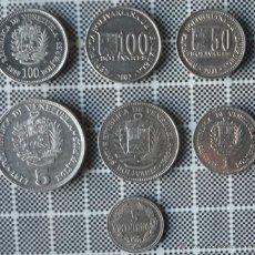 Monedas antiguas de América: LOTE DE 7 MONEDAS DE VENEZUELA. Lote 46661268