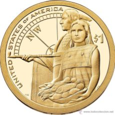 Monedas antiguas de América: ESTADOS UNIDOS / USA 1 DOLAR 2014 AMERICAN NATIVE (SACAGAWEA) P. Lote 257390015