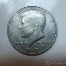 Monedas antiguas de América: U.S.A.1977 HALF DOLLAR-TIPO KENNEDY.. Lote 46876542
