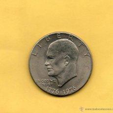 Monedas antiguas de América: MM. ONE DOLAR. EISENHOWER. BICENTENARIO. 1776. 1976. SIN CIRCULAR. ESTADOS UNIDOS AMERICA. USA. EEUU. Lote 47099586