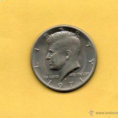 Monedas antiguas de América: MM. HALF DOLAR ESTADOS UNIDOS AMERICA. USA. EEUU. 1971. KENNEDY. SIN CIRCULAR. VER FOTOS.. Lote 47099661