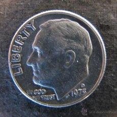 Monedas antiguas de América: MONEDA ESTADOS UNIDOS 10 CENTAVOS DIME 1975. Lote 47246730
