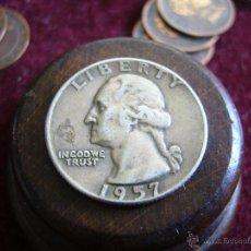 Monedas antiguas de América: USA. QUARTER DOLLAR 1957. Lote 47323442