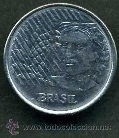BRASIL 10 CENTAVOS DE 1996 - Nº1 (Numismática - Extranjeras - América)