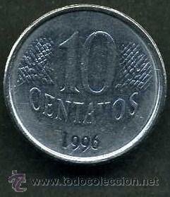 Monedas antiguas de América: BRASIL 10 CENTAVOS DE 1996 - Nº1 - Foto 2 - 90770825