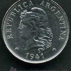 Monedas antiguas de América: ARGENTINA 50 CENTAVOS DE 1941 - Nº2. Lote 149995930
