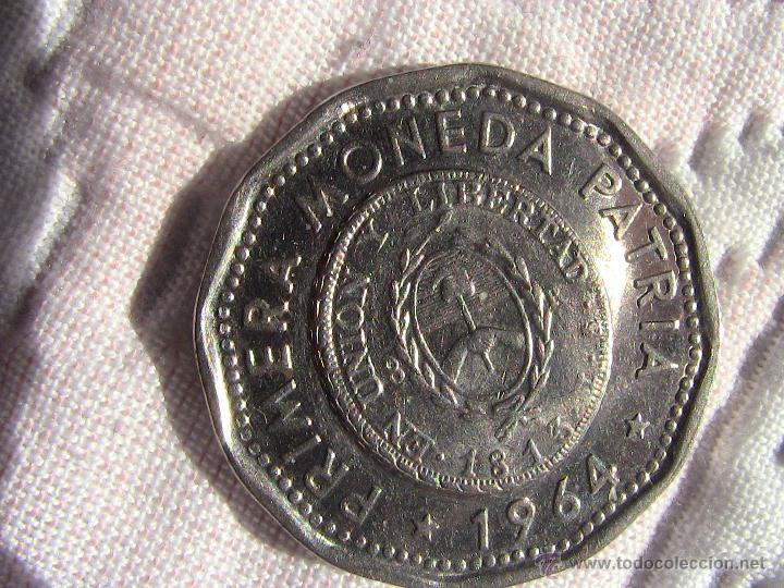 MONEDA 25 PESOS ARGENTINA 1964 (Numismática - Extranjeras - América)