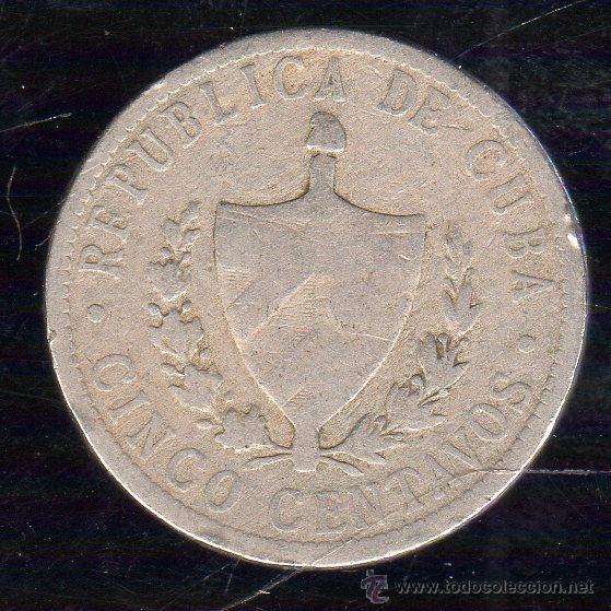 CUBA. 5 CENTAVOS. AÑO 1920. (Numismática - Extranjeras - América)