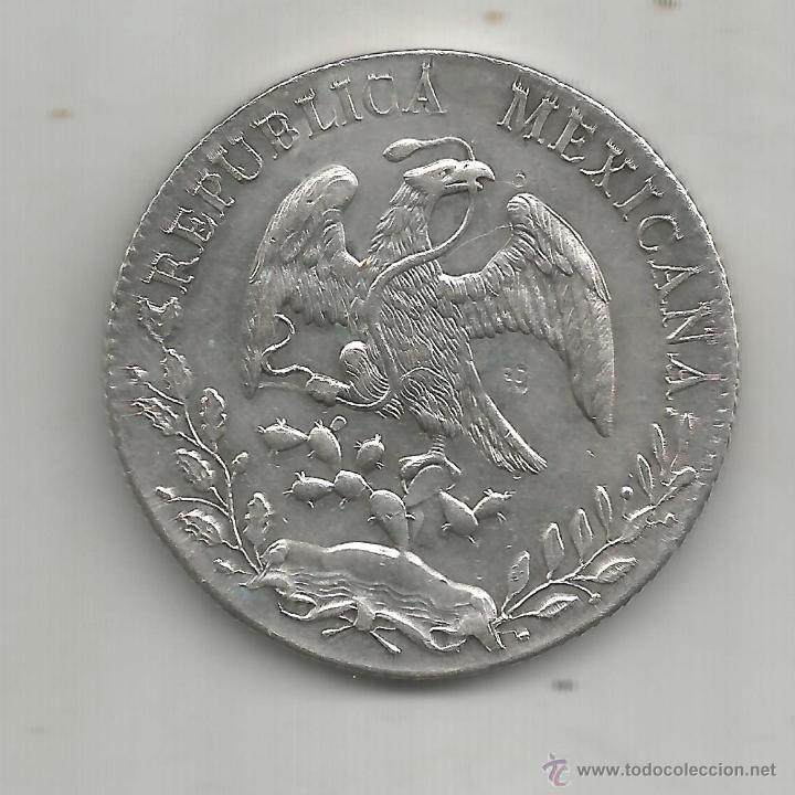 México 8 Reales 1888 Plata Comprar Monedas Antiguas De ámérica En