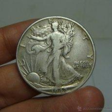 Monedas antiguas de América: 1/2 DOLAR. PLATA. U.S.A - 1942 (LIBERTY). Lote 48455922