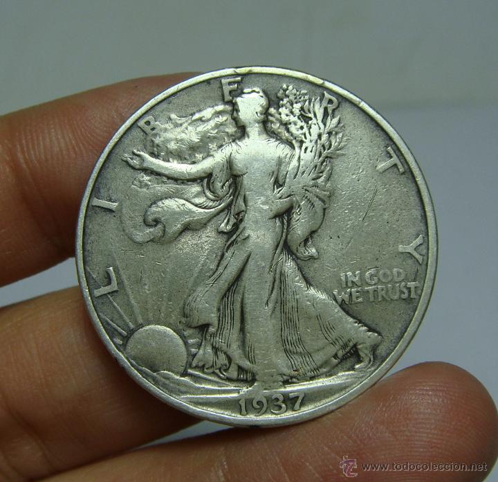 1/2 DOLAR. U.S.A - 1937 (LIBERTY) (Numismática - Extranjeras - América)