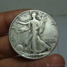 Monedas antiguas de América: 1/2 DOLAR. PLATA. U.S.A - 1940 (LIBERTY). Lote 48456543