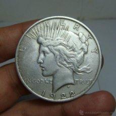 Monedas antiguas de América: 1 DOLLAR / 1 DOLAR. PLATA. U.S.A - 1922 (LIBERTY). Lote 48456692