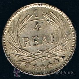 Monedas antiguas de América: GUATEMALA. 1/4 REAL 1.894 - Foto 2 - 48615719
