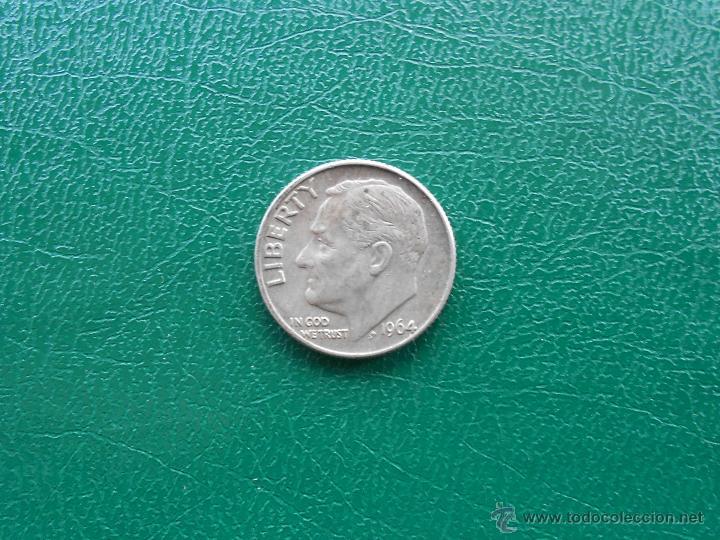 1 DIME ROOSEVELT 1964 D (Numismática - Extranjeras - América)
