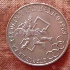Monedas antiguas de América: MONEDA DE PLATA DE 25 PESOS MEXICANOS OLIMPIADAS 1968. Lote 49074936