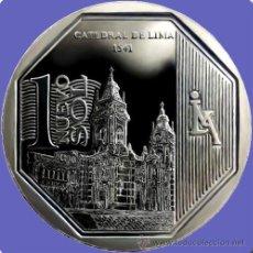 Monnaies anciennes d'Amérique: PERU 2014 1 NUEVO SOL RIQUEZA Y ORGULLO DEL PERÚ ( CATEDRAL DE LIMA ). Lote 182222207